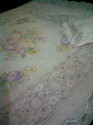 Hand Painted Net Bed Sheet