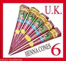Bridal Henna Cones