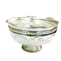 German Silver Bowl with Stand