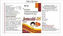 Paracetamol Chlopheniramine and Phenylephine HCL Syrup