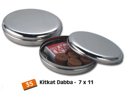 Stainless Steel  (Papad Storage Canisters)