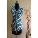 Sleeveless Designer Tie Top