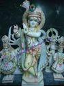 Marble God Krishna Statue