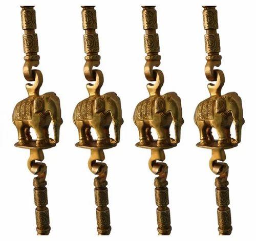 Brass Elephant Chain
