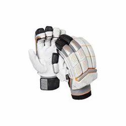 Leather Bent Cricket Batting Gloves