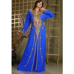 Royal Blue Abaya