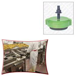 Screw Support Mounts for Food Processing Unit