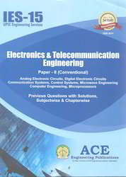 IES-15 Electronics Telecommunication Engineering Paper II Conventional