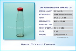 200 GM Ketchup 30 MM MTO LUG Bottle
