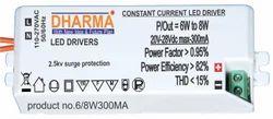 LED Driver 6-8w / 20-28v300ma