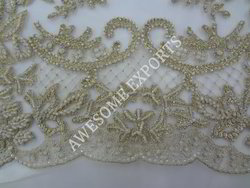 Beaded Net Fabric