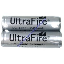 Ultrafire 18650 3.7v 2400 Mah Rechargeable Lithium Ion