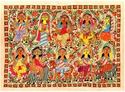 madhubani mithila paintings