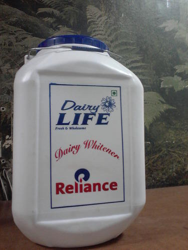 10 Kg Dairy Whitener Plastic Jar