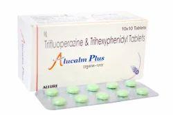 Alucalm Plus ( Trifluoperazine   Trihexiphenidyl ) Tablet