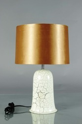 Crackle Design Lamp