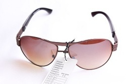 Trendy Metal Frame Sunglasses