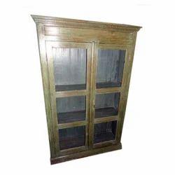 Vintage Glass Display Almiah