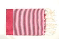 Red Tunisia Fouta Towel