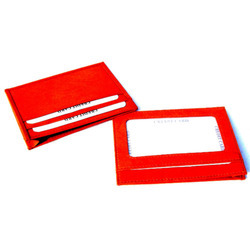 Card Holder with Id Pocket