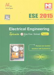 ESE 2015 Electrical Engineering Topicwise Objective Solved Paper I