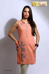 Womens Tunic Western Style Party Wear Tunic Kurti