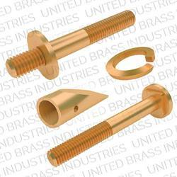 Copper Turned Precision Components