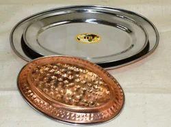 Copper Rice Plate