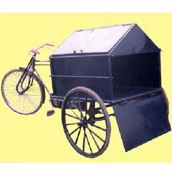 garbage collector rickshaw