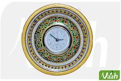 Vaah Meenakari Marble Alarm Clocks