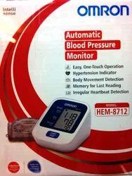 Omron Automatic Blood Pressure Monitor Model: HEM-8712