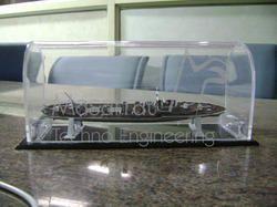 Acrylic Ship Display Unit