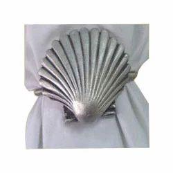 Brass Shell Napkin Ring