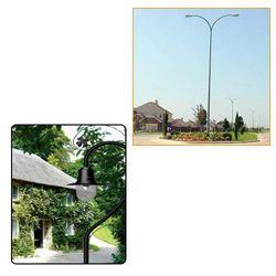 Double Swan Neck Pole For Garden