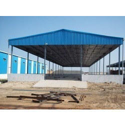 Prefabricated Fabrication Yard Industrial Sheds