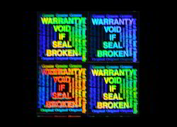 Warranty Void Hologram Sticker