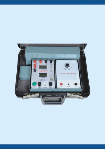 Resistivity Meter with Built-in Power Source