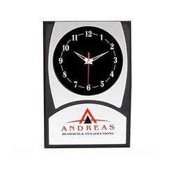 Vertical Plastic Wall Clock