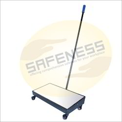 Under Vehicle Search Mirror With Trolley