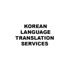 Korean Language Translation Services