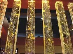 Glass Pillar 3d Laser Glass Pillar Wholesale Trader From