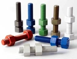 Fluoropolymer PTFE Coated Fasteners