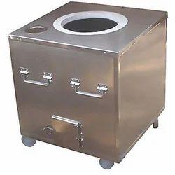 steel tandoor pot