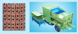 Double Shaft Country Clay Brick Moldings Machine