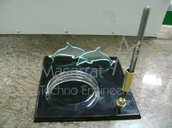 Acrylic Dolphin & Visiting Card Holder