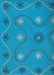 Embroidered Scrapbook Papers For Scrapbooking