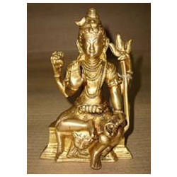 Brass And Bronze Lord Shiva Statue