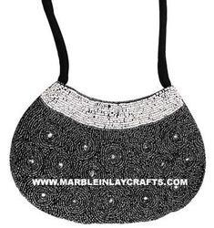 Zari Embroidery Evening Bag