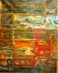 Sam+Oil+On+Canvas+Paintings