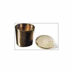Crucible - Lids - Basins - Nickle Ware
